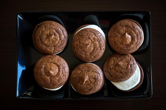 Пошаговый фото-рецепт: Пирожное брауни с маскарпоне