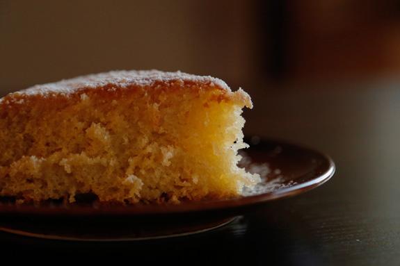 И можно подавать к столу!... Лимонный кекс: пошаговый фото-рецепт